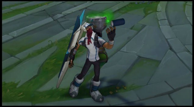 League Of Legends Gets Skins Modelled After Championship Players