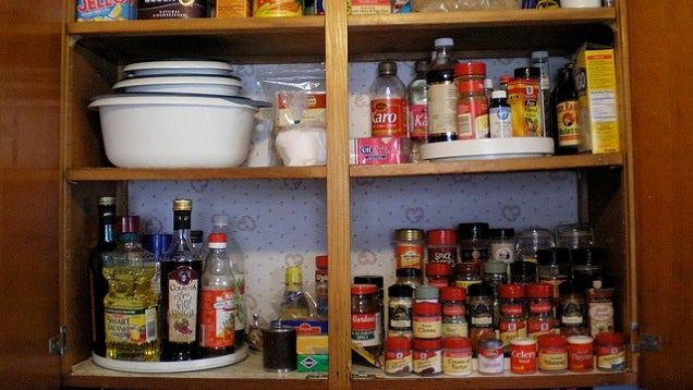 Make Your Cupboard More Organised by Keeping Everything Inside Visible