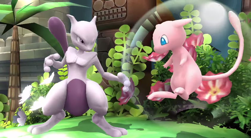 Reminder: You Can Now Buy Mewtwo In Smash Bros.