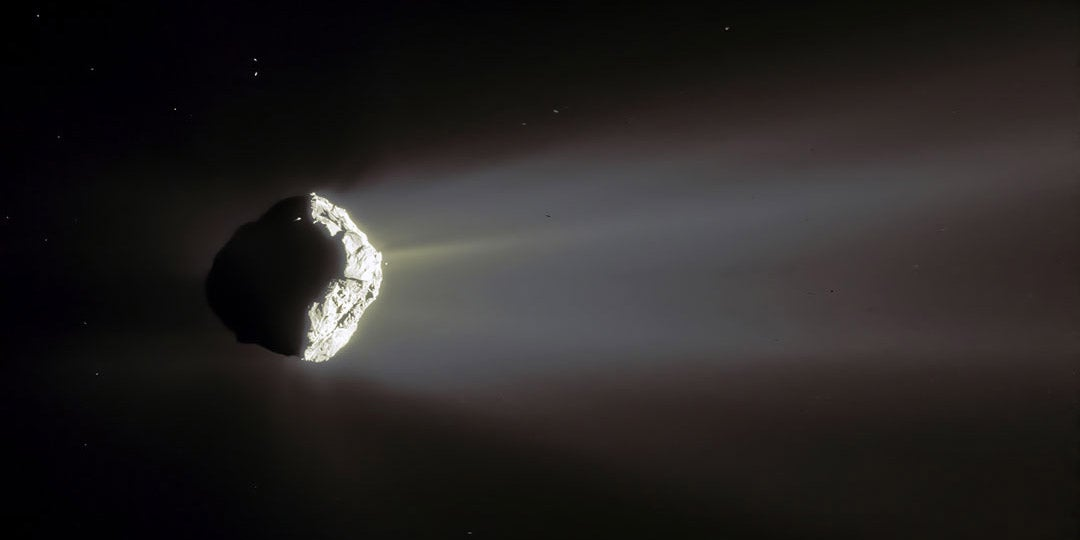 This Might Be The Nicest Image Yet Of Comet 67P