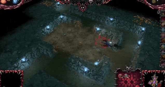 Warcraft & Dungeon Keeper, Together In One Game