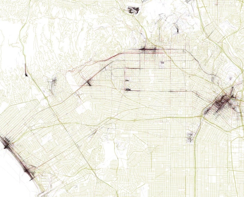 These Maps Plot the Most Interesting Places and the Paths Between Them