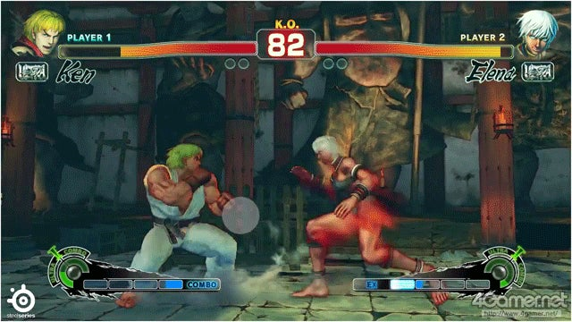 Where Pro Street Fighter Players Look