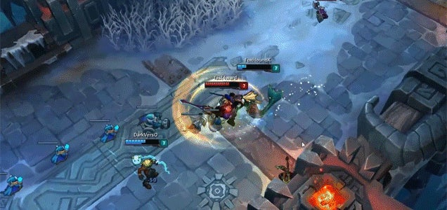 Magical Snowball Sends League Of Legends Players Flying Across The Map