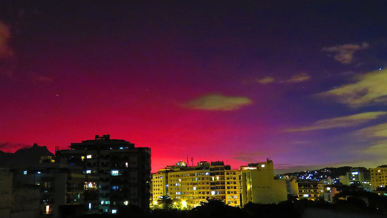 Why A Volcanic Eruption In Chile Is Turning Brazil's Sky Purple