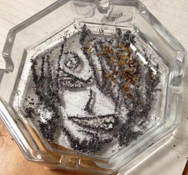 Some Anime Characters Are Perfect for Cigarette Art