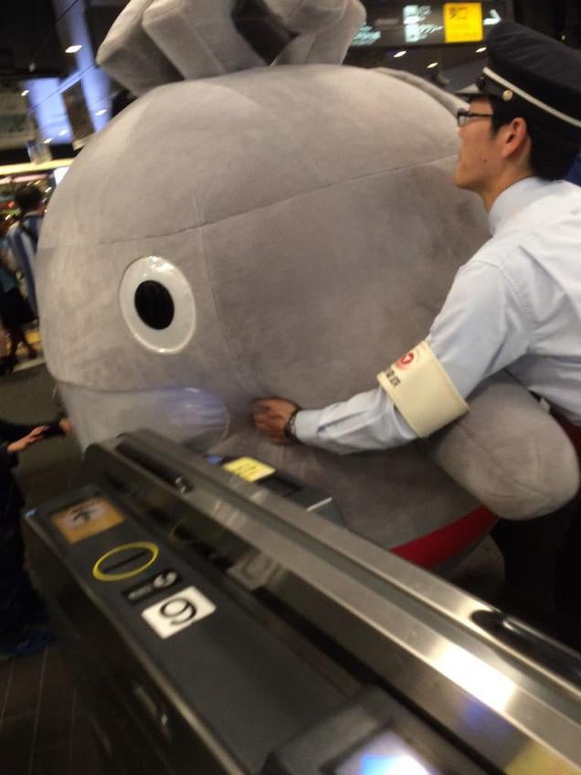 When Cute Characters Are Too Damn Big for Japan