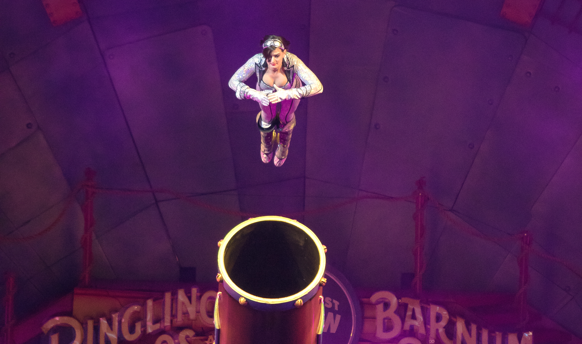 A Glimpse Inside The Secretive World Of Human Cannonballs