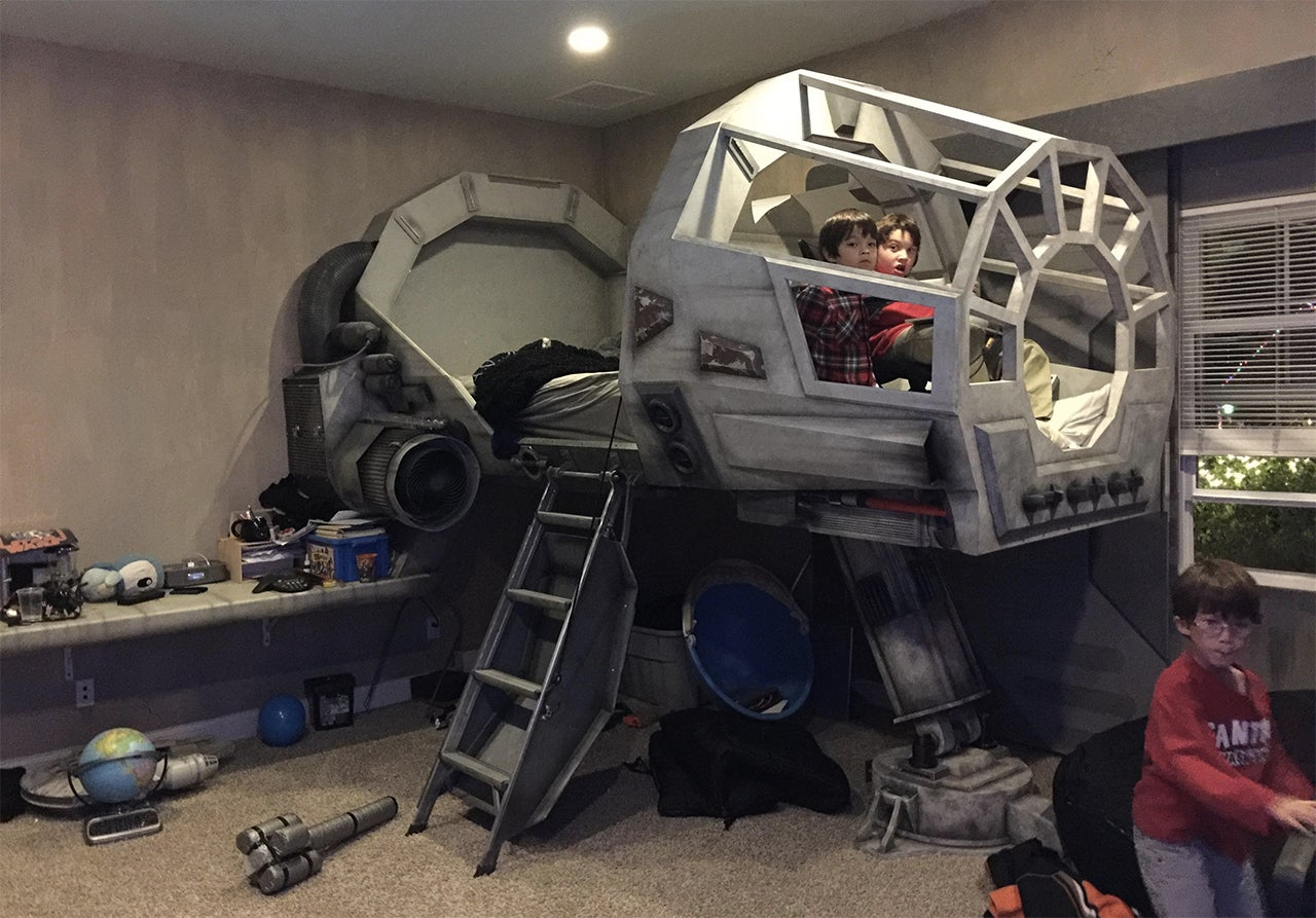 There's No Reason To Ever Get Out of a Millennium Falcon Bed