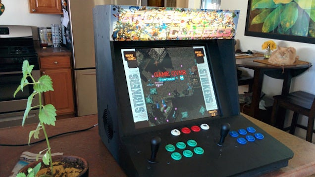 Convert an Old PC Into a Bartop Arcade Machine