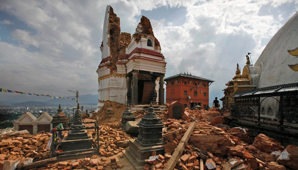 These High-Tech Archaeological Tools Will Help Rebuild Nepal's History