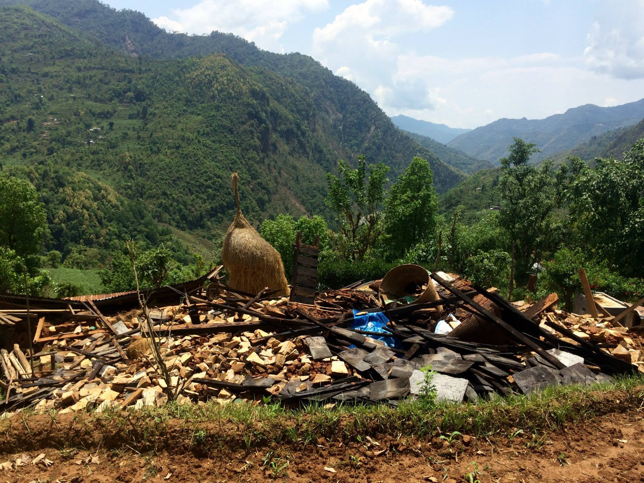 Last Week, I Was Paragliding; Now I'm Delivering Aid In Nepal