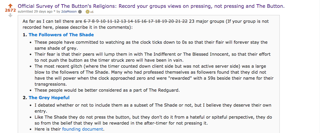 People Got So Into This Strange Internet Button They Made Up Religions