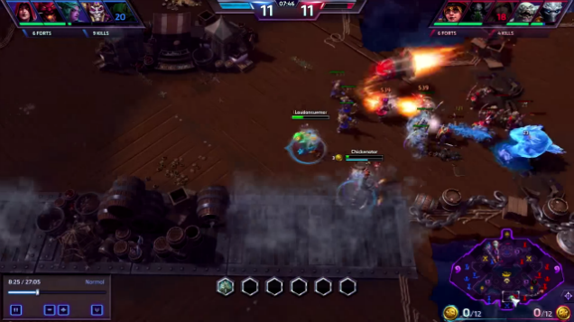 Heroes Of The Storm Has Some Great 420 No Scope Moments