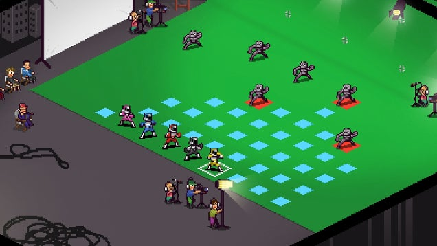 A Strategy Game Where You're Basically The Power Rangers