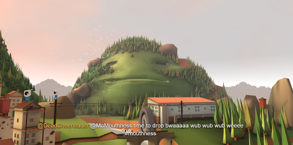 Here Are Some Animated Mountains That Will Read Your Tweets