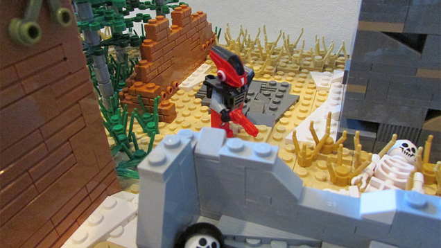 Destiny's Old Russia In LEGO Form