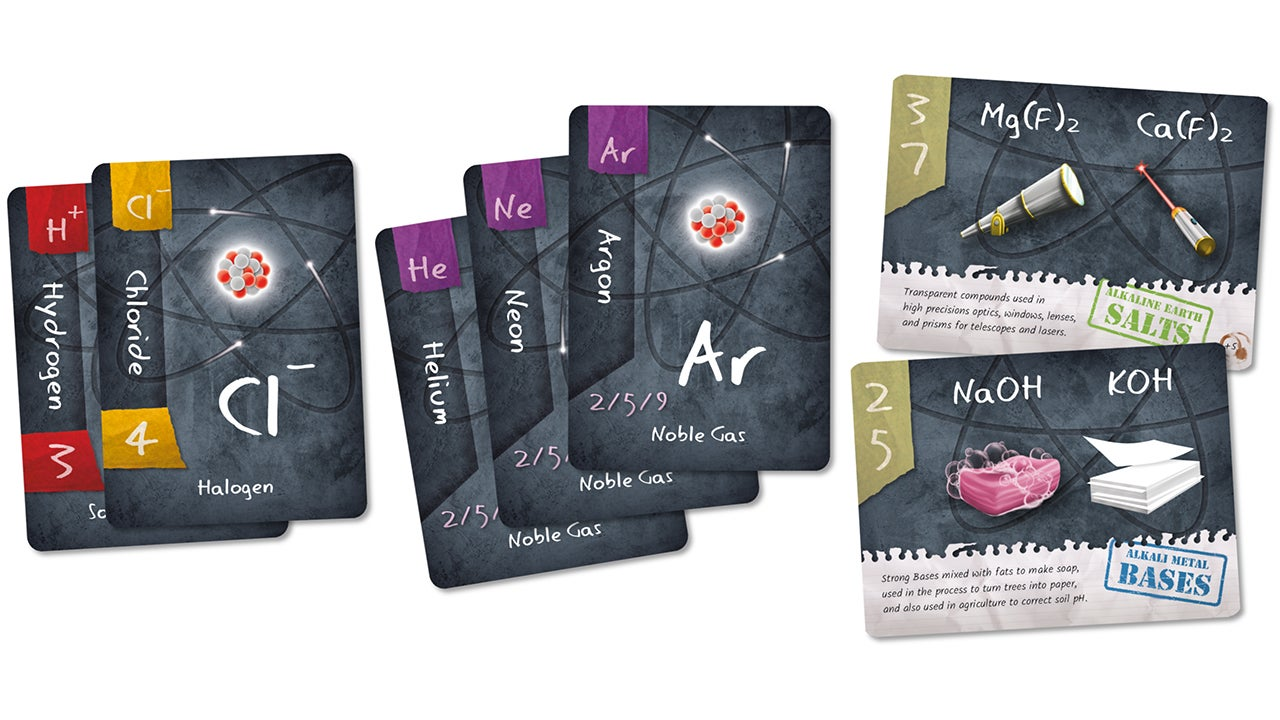 Chemistry Is Easier To Learn When It's Disguised As a Card Game