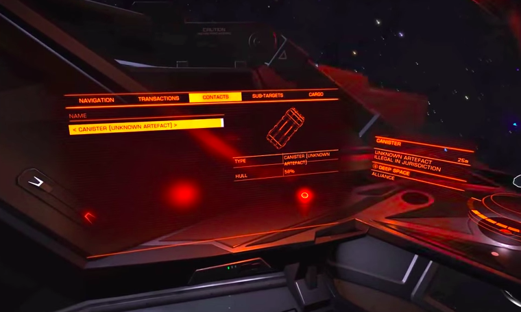 The Mysterious Alien Item Elite: Dangerous Players Can't Figure Out