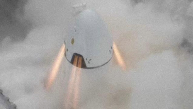 Watch the SpaceX Dragon Pad Abort Test