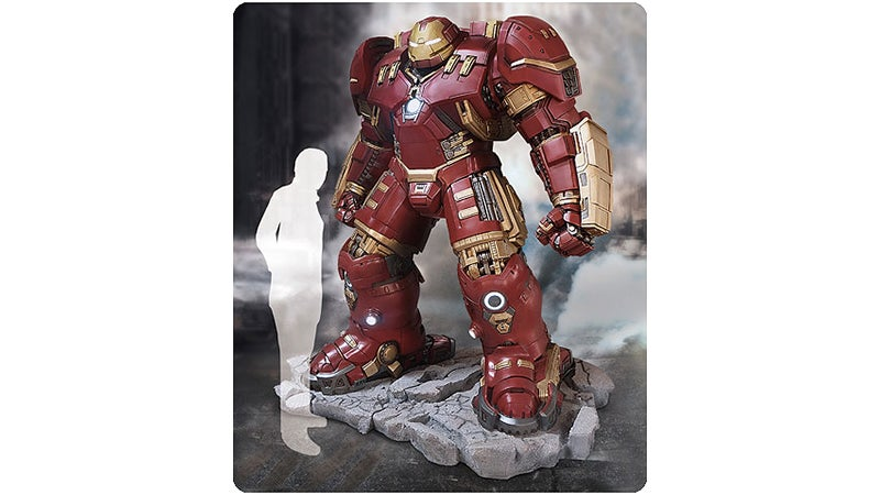 You Can Finally Pre-Order That Life-Size Hulkbuster Statue — For $US18,000