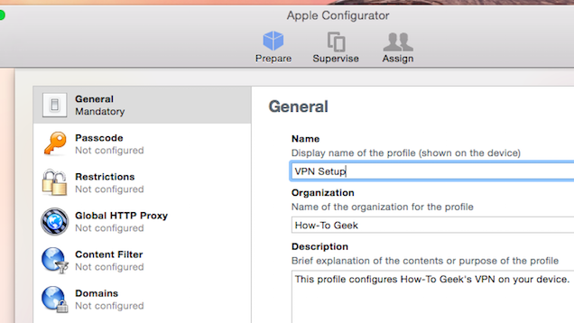 Make Your Own VPN Configuration Profile for iOS to Simplify Setup
