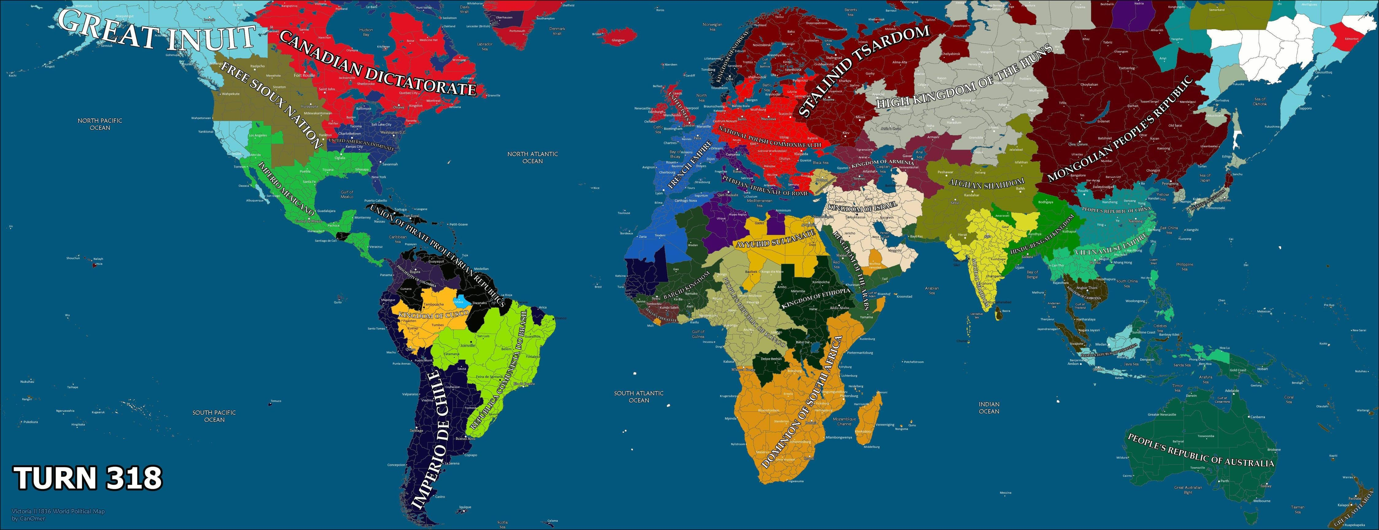 Civ V's 44-Player War Has Overrun The Planet, Prepares For Doomsday