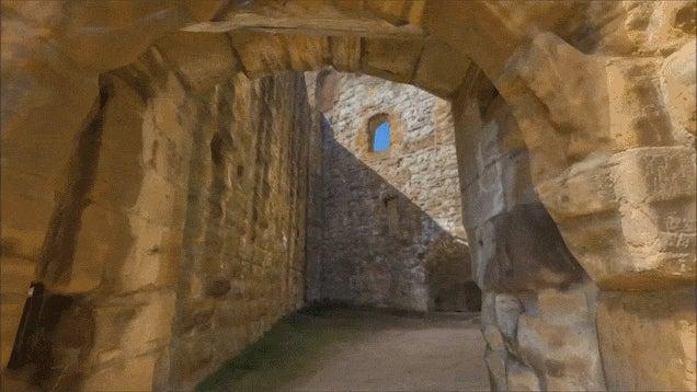German Medieval Ruins Recreated In Unreal Engine 4
