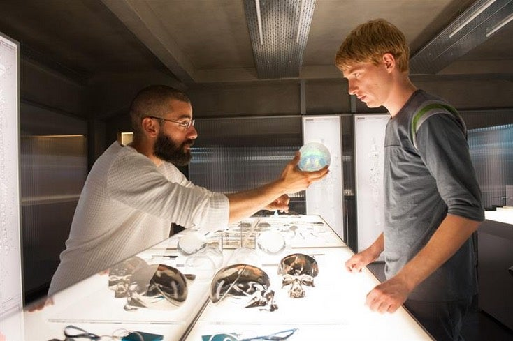Ex Machina Director Alex Garland Talks Robots, Paranoia, and Old Futures