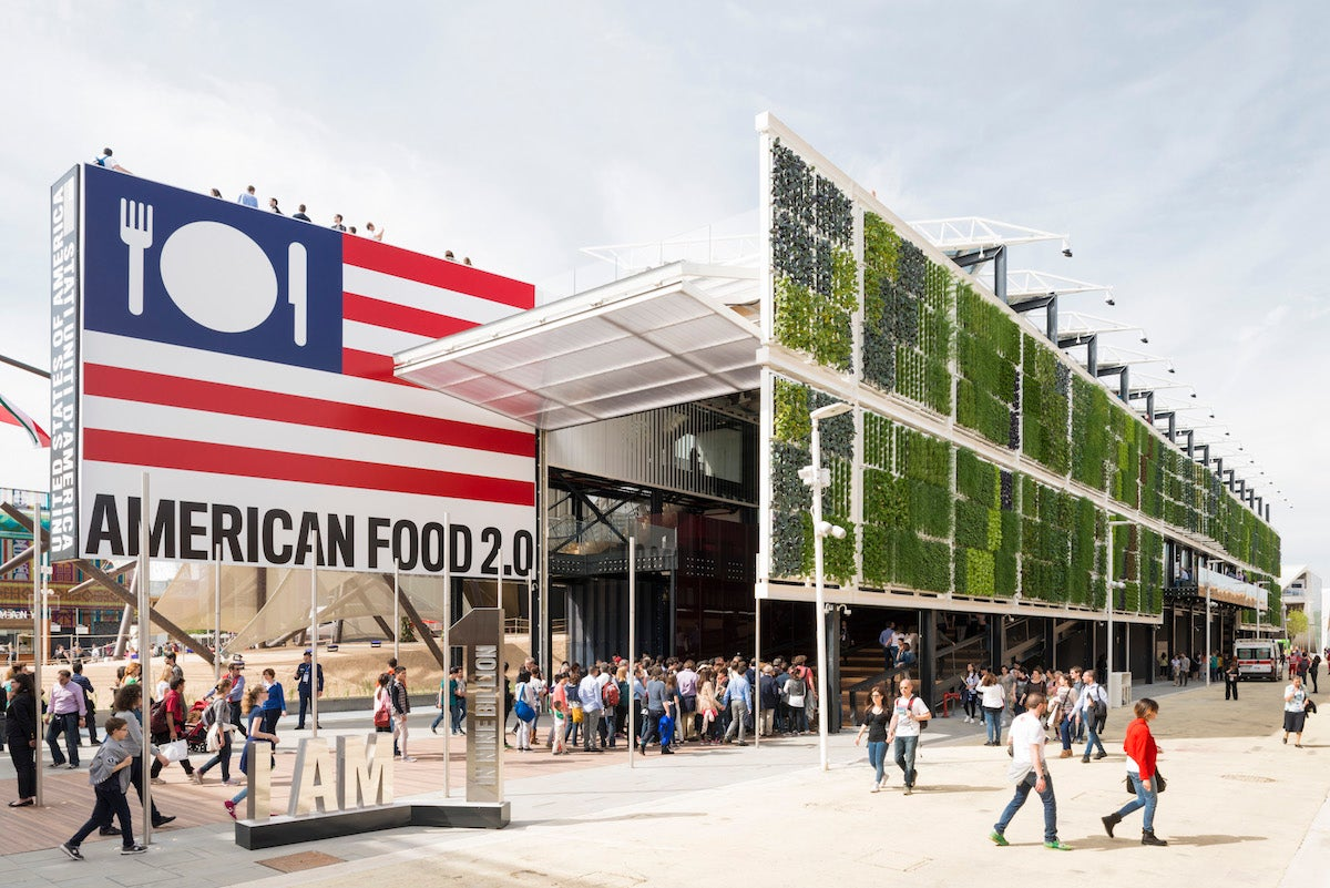 Behold the Gigantic Vertical Farm That the US Built For the World's Fair