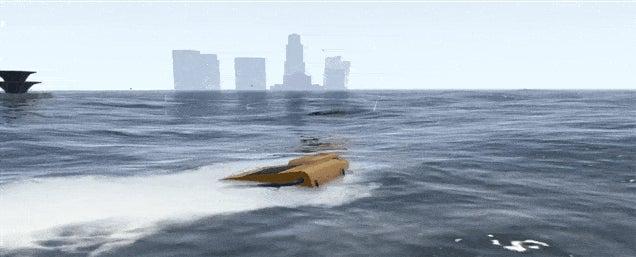 GTA V Mod Causes Tsunami, Drowns Los Santos (Again)