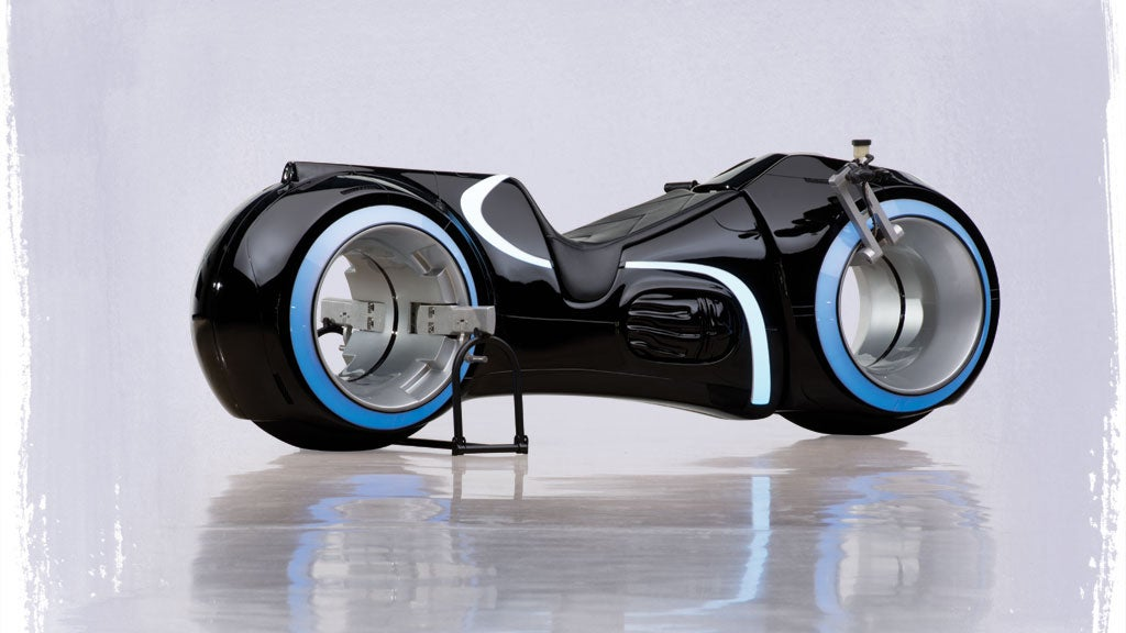 Fully-Functional TRON Lightcycle Sold For $US77,000