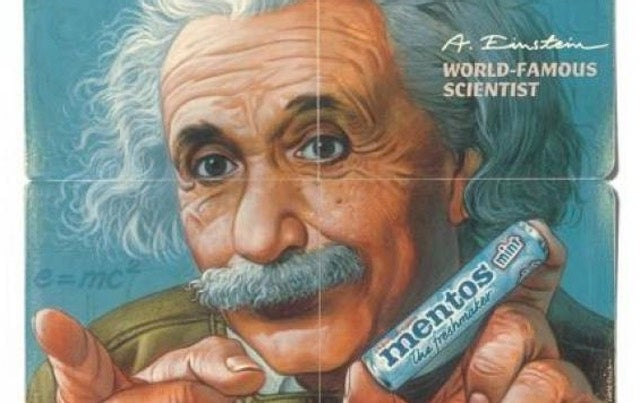 Albert Einstein, Famous Product Endorser, Hated Product Endorsements