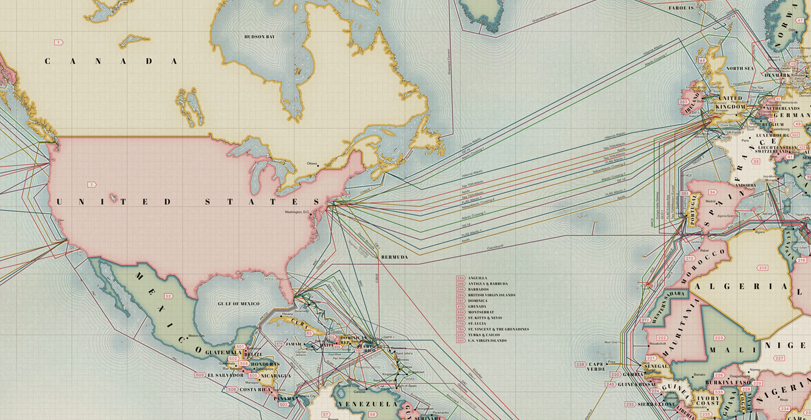 Why More Technology Giants Are Paying To Lay Their Own Undersea Cables