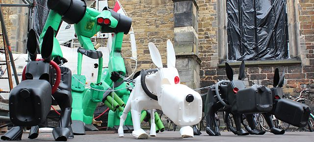 Robot Dogs Will Replace Pets in Super-Dense Cities