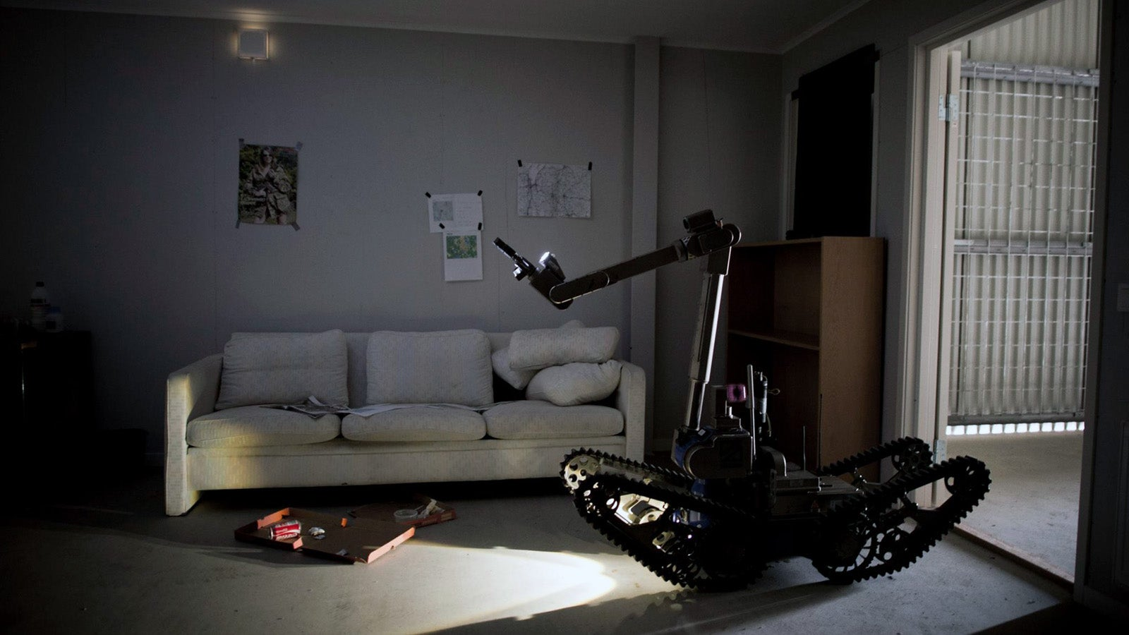 In the Dystopian Home of the Future, Robots Have the Search Warrants