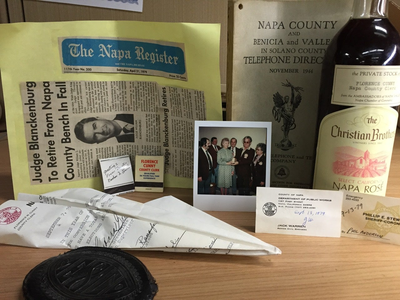 The Napa Earthquake Accidentally Unearthed a Time Capsule