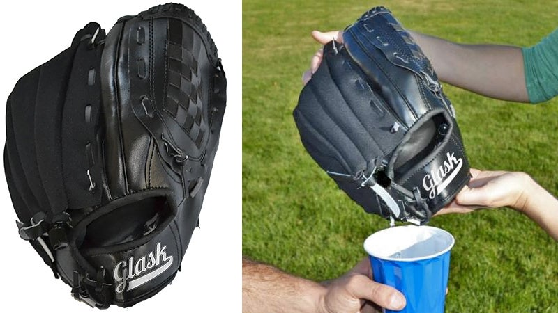 Everyone Will Fill a Baseball Glove Flask With Gatorade, Right?