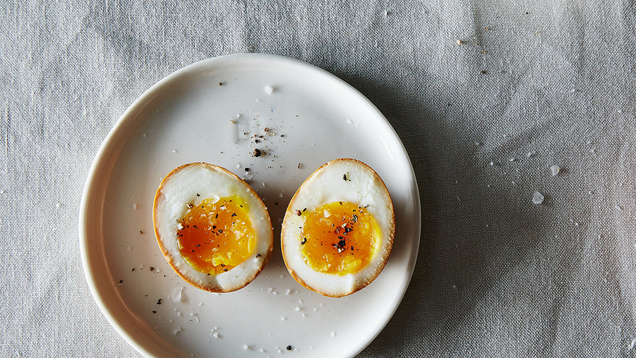 Marinate Eggs in Soy Sauce to Upgrade Your Ramen or Salads