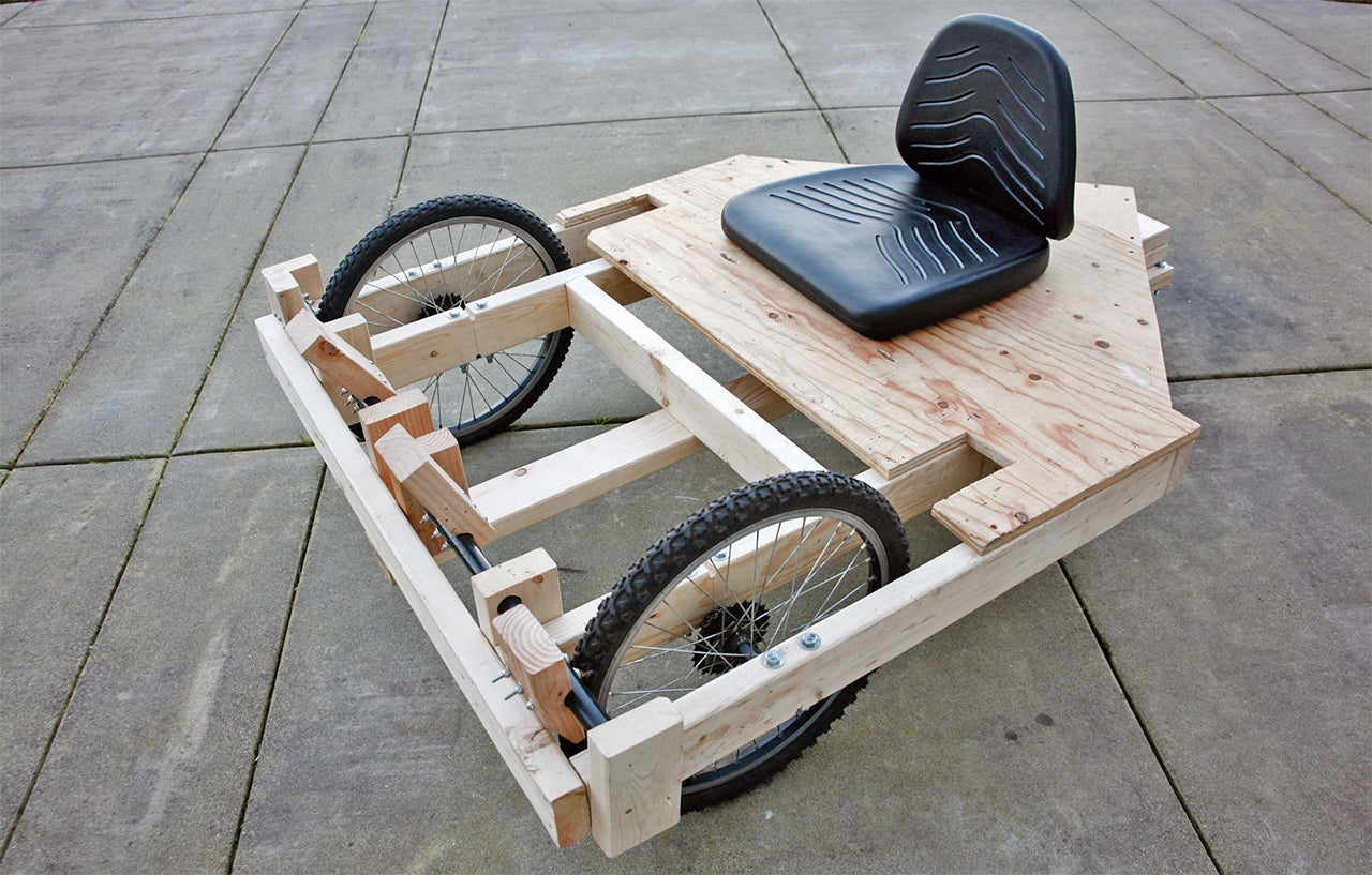 How To Build A Cheap(ish) Drill-Powered Go-Kart | Gizmodo ...