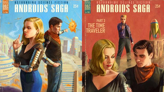 Dragon Ball Z's Android Saga As Pulp Fiction