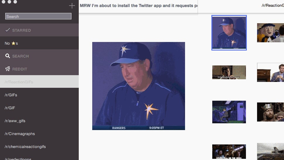 GIFs for Mac Makes Sure You Always Have the Perfect Reaction GIF Handy