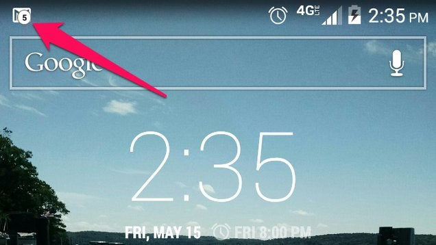Notification Count Adds Number Badges to Android Notifications