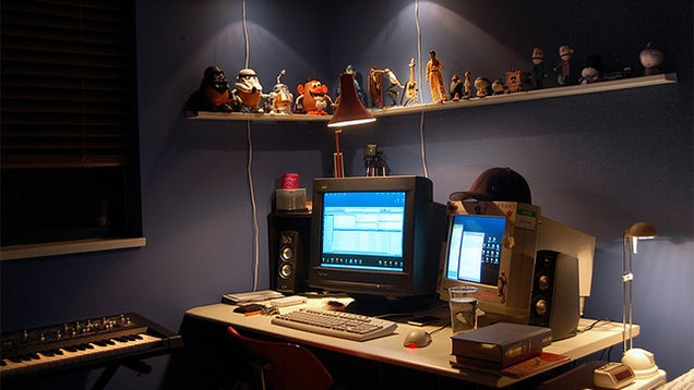 Create a Warm, Low Light Workspace to Boost Creativity