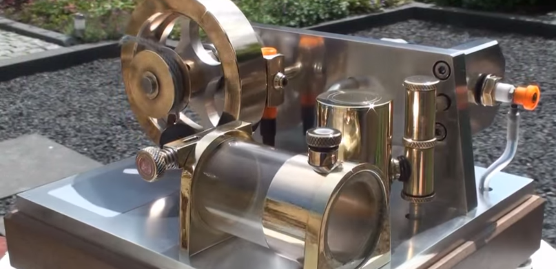 Beautiful Two-Stroke Engine Lets You Watch Its Inner Workings