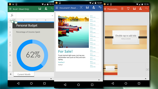 Microsoft Office for Android Phones Is Now Available as a Preview
