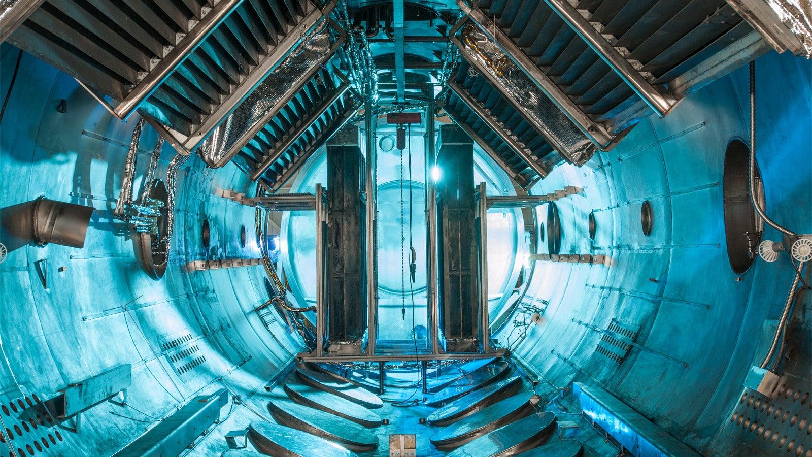 This Vacuum Chamber Looks Like Some Futuristic Spaceship ...