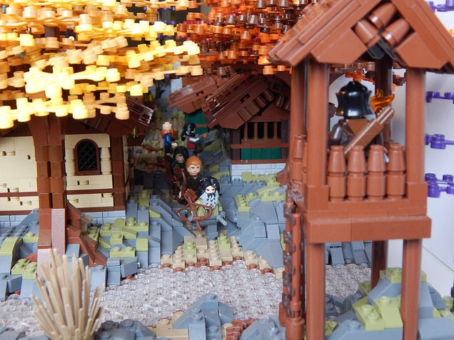 There's a Castle Hidden in the LEGO Autumn Foliage