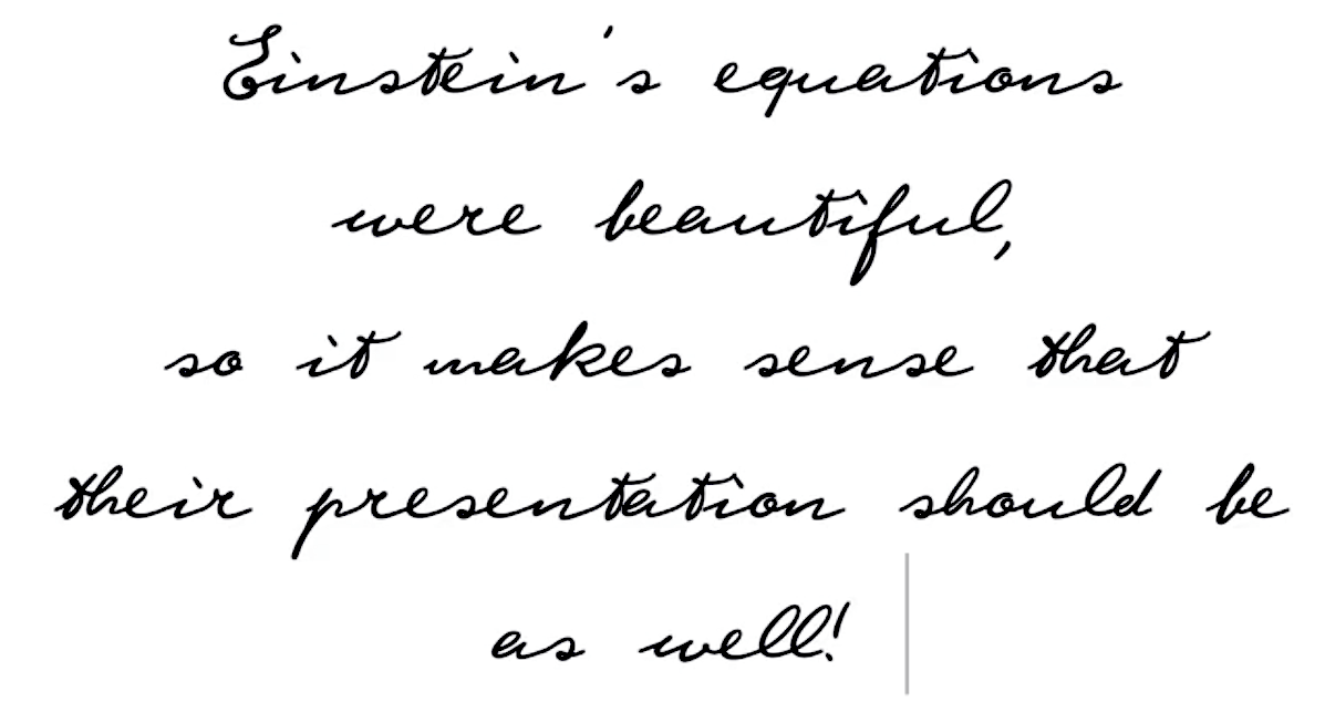 4 Typefaces That Let You Write Like Einstein and Other Famous Thinkers