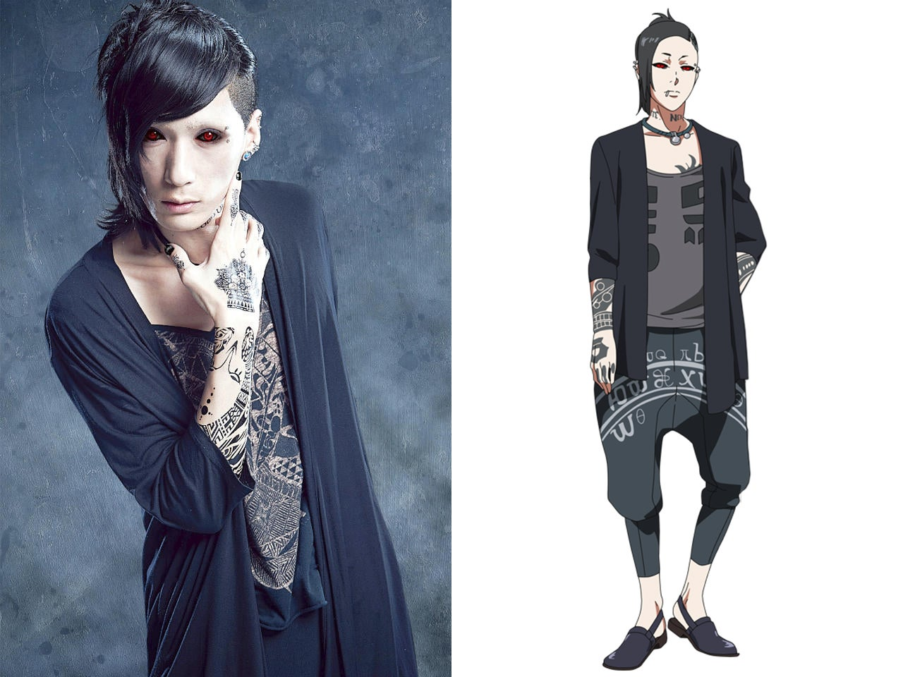 Second Tokyo Ghoul Stage Play's Optics Revealed!!